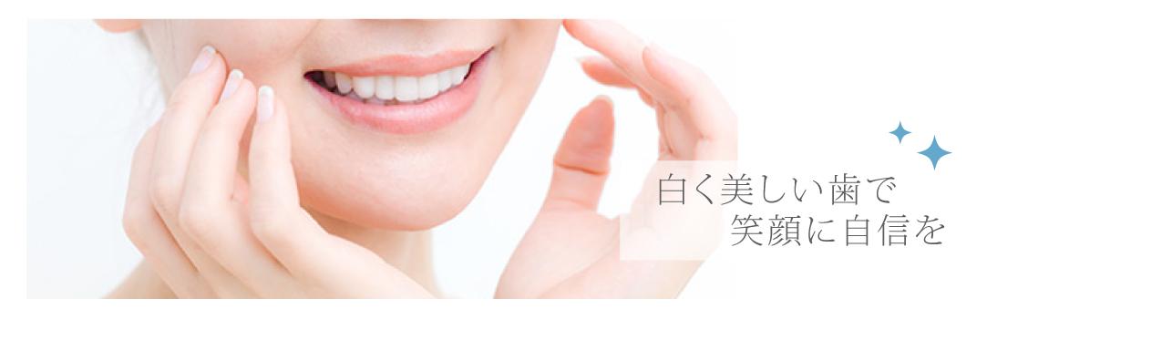 白く美しい歯